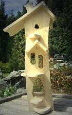 Vogelhaus,Vogelvilla,Typ Hexe G,zum selbst bemalen,Top