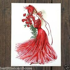 Vintage Original 1907 NEW YORK SHOW GIRL FIELD'S LITHOGRAPH PRINT Unused NOS