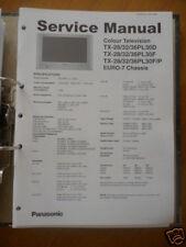 Panasonic Reparacion De Manual De Servicio TX-28/32/36 Color TV,ORIGINAL