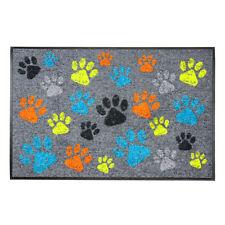 Fußmatte Bodenmatte mit Pfötchen Pfoten Tatzen 50 x 75cm rutschfest