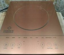 New listing New Copper Cooks Companion Induction Cooktop 1500W Led Color Glass Programmable