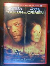 DVD EL COLOR DEL CRIMEN (SAMUEL L.JACKSON) - EDICION DE ALQUILER (5W)