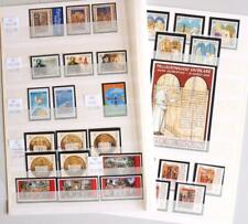 VATICAN 2001 MNH**, Complete XF Year Set Collection, Church State, Italy Pope