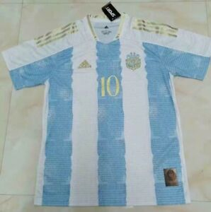 Argentina MESSI Jersey 10# 2021 Specials Edition Amazing NEW Size XL