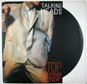 TALKING HEADS Stop Making Sense LP 1984 INDIE ROCK VG++ VG++