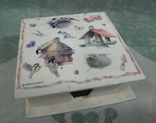 Marjolein Bastin Nature Bird House Beverage Drink Coasters Boxed Set of 6
