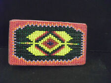 Native American Art-Beaded Belt Buckle