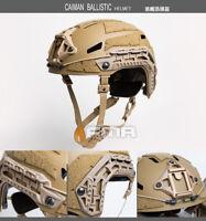 FMA Outdoor Tactical Airsoft Paintball Caiman Ballistic Helmet (M/L) TB1307