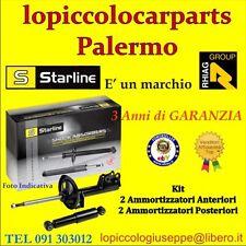 Kit Ammortizzatori Anteriori+Posteriori Alfa 156 tuttI tipi STARLINE