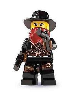 LEGO COWBOY BANDIT SHERIFF SERIES 6 MINIFIGURE NEW