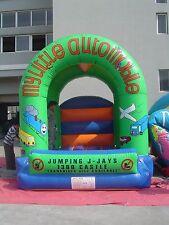 MASSIVE JUMPING CASTLE SALE  4mx4m Castle - Automobile Theme **Commercial** NEW