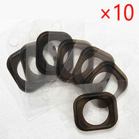 10x For iPhone 6/6S and Plus Home Button Rubber Gasket Adhesive Sticker Gifts