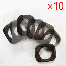 10x For iPhone 6/6S Plus Home Button Rubber Gasket Adhesive Sticker Holder  AU