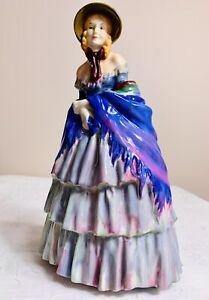 Royal Doulton Victorian Lady HN1345 Porcelain Figurine Vintage