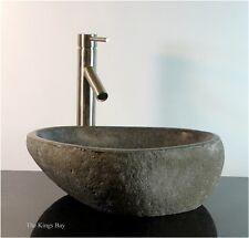 Granite River Stone Boulder Vessel Counter Top Bathroom Sink wbt2