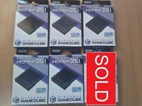 GC Official/Genuine Nintendo GameCube Memory Card 251 Blocks (Boxed) [DOL-014]