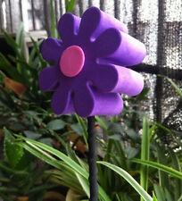 Cute Purple & Pink Daisy Antenna Balls Car Aerial Ball Antenna Topper Decor New