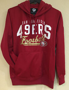 San Francisco 49ers Men's Hooded Pullover - Screen Printed Logo by G-III - NFL