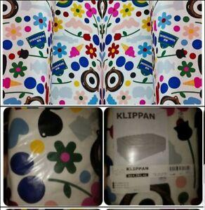 IKEA Klippan Förnyad 2 Seat Loveseat Sofa Cover MOD Flower Ltd Ed Fornyad DARCEL