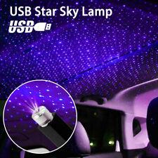 Car USB Star Sky Ceiling Light Projection Lamp Romantic Atmosphere Night LightsA