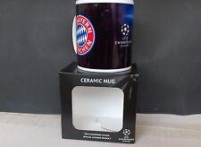 FC Bayern München Tasse Champions League Saison 2015/2016 NEU,OVP,Lizenzware