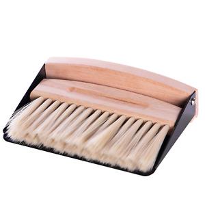 Table Top Brush Set Crumb Sweeper Mini Magnetic Dustpan and Brush Set M&W