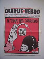 "CHARLIE HEBDO  -  N° 206  "" Le Temps des Corridas ""  / 29 mai - 1996  -  Luz"