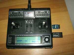 Graupner Sender MC 22  IFS  mit Akku  2,4 Ghz IFS + 2 x Empfänger XR 16 IFS