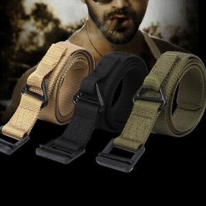 Military Combat Rescue Rigger Duty Belt Tactical Belt for Hunting Adjustable