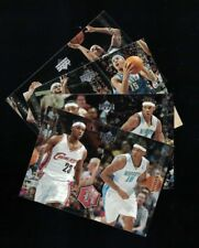 4 Card Lot 2004-05 Upper Deck Rivals LeBron James/ Carmelo (#27,28,29,30)