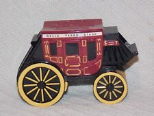 2011 WELLS FARGO BANK STAGE COACH COIN CAST IRON BANK ~NO KEY~