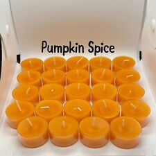 2 Dz Pumpkin Spice Partylite/Cccc Seconds Tealights