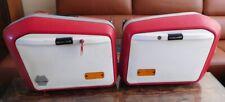 Motorrad Koffer KRAUSER K2 ROT-WEIß 35 Liter Motorradkoffer Seitentaschen