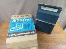 TOURNE DISQUE PORTABLE ELECTROPHONE vintage RECORD PLAYER NOGAMATIC M018