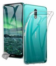 Housse etui coque silicone gel fine pour Nokia 2.3 + film ecran - TRANSPARENT TP