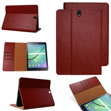 Premium Leather Cover Samsung Tab S2 Protective Case Sleeve Tablet Galaxy red