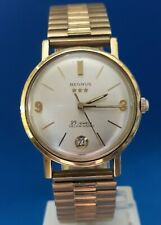 Mens Vintage 25 Jewels Benrus Watch.FREE 3 DAY PRIORITY SHIPPING.