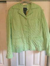 Faconnable Light Weight Quilt Jacket - Women's Size L