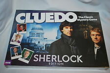 Cluedo/Clue Cardboard Crime Board & Traditional Games