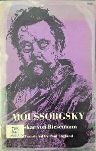 Moussorgsky by Oskar von Riesemann (Paperback, 1972)
