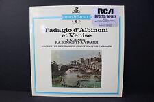 """LP: L'Adagio d""""Albinoni & Venise Orchestre de Chambre J.F. Paillard Erato"""