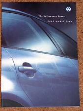 2000 VW Gamme brochure-Lupo Polo Golf Cabriolet Bora Passat Sharan Beetle