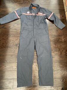 Vintage Jumpsuit Coveralls Para Suit Mens 48 Mechanic Hipster Northwest Airlines