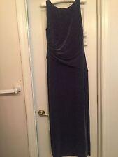 RALPH LAUREN size 10 Dress Purple. Was $190.