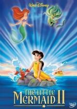 DISNEY THE LITTLE MERMAID II -IN GREEK AND ENGLISH SEALED DVD ALL REGION
