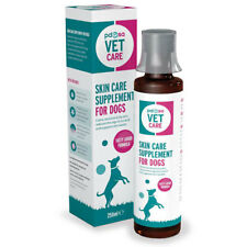 PDSA VET CARE Skin Care Suppliment for Dogs Calms Itchy Skin reduces Scratching