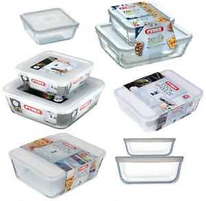Pyrex Food Storage Baking Serving Dish with Plastic Lid Cook& Freeze Rectangular