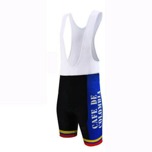 Retro 1985 Team Cafe de Colombia Cycling Jersey And Bib Shorts Sets