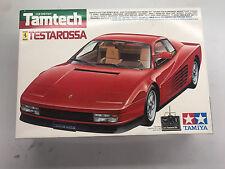 Vintage Tamiya Tamtech 1/24 Ferrari Testarossa remote control car kit R/C