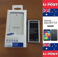 Original Genuine Samsung S5 Battery Kit Dock I9600 With Australian Battery NFC
